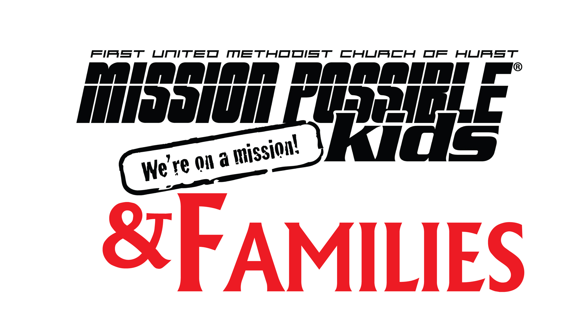 Mission Possible Kids & Families (OUTDOOR/IN PERSON)